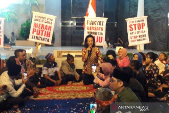 Sejumlah tokoh Yogyakarta gelar aksi damai serukan persatuan bangsa