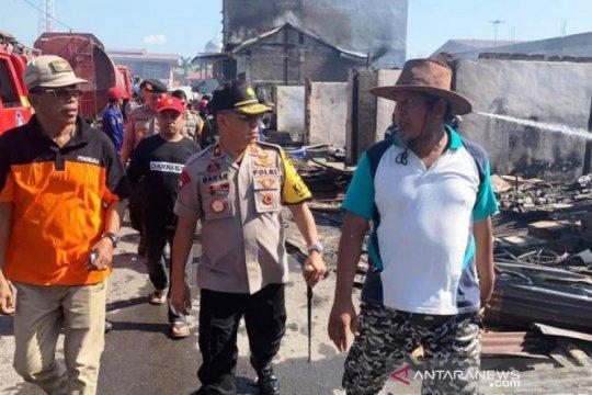 Polisi tangkap satu pria terkait kebakaran di pasar Mamuju Tengah