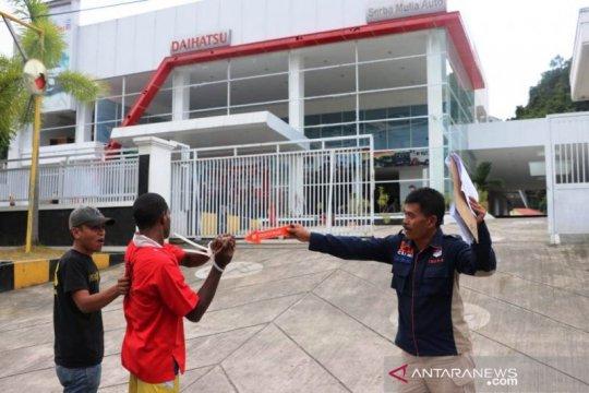 Papua Terkini - Polda Papua olah TKP kasus demo berujung anarkis