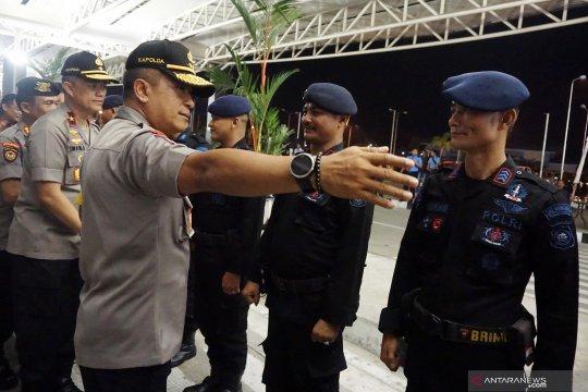 Penambahan personel Brimob Polda Kalbar untuk pengamanan di Papua