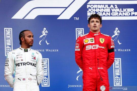 Hasil GP Belgia, Leclerc akhiri puasa kemenangan Ferrari