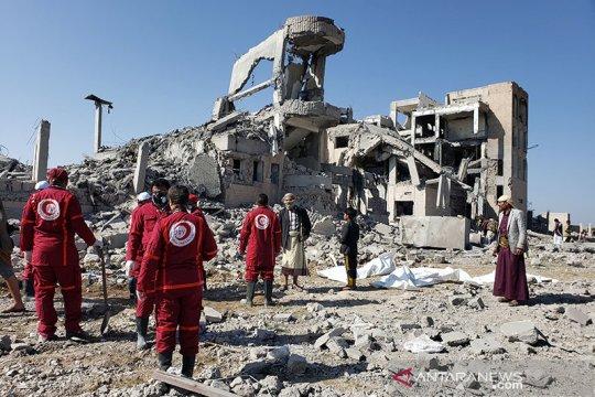Palang Merah: Lebih 100 orang tewas dalam serangan atas penjara Yaman