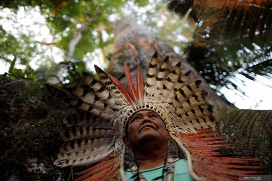 Festival suku pedalaman Amazon