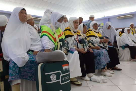 449 haji kloter 19 BTH mendarat di Batam