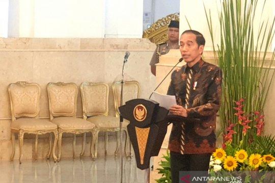 Jokowi kembali tegaskan kabinet baru hak prerogatif Presiden