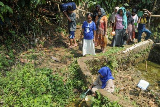 Delapan kecamatan di Lebak krisis air bersih