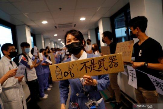 Polisi Hong Kong perketat pemeriksaan ke bandara cegah kekerasan malam