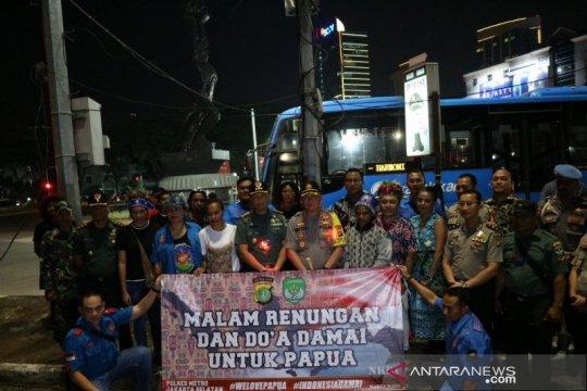 Polres Metro Jaksel gelar renungan-doa bersama untuk Papua