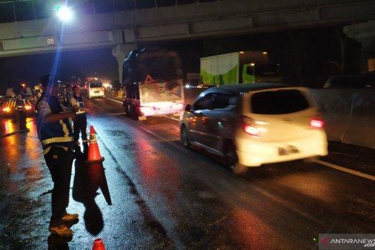 Arus lalu lintas mulai pulih pascakecelakaan maut Cipularang