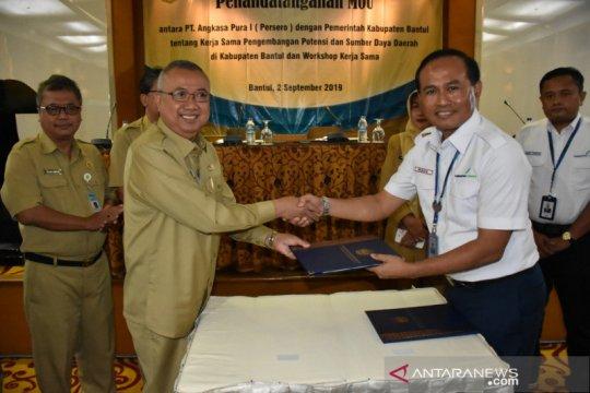 Menyusul beroperasi BIY, Bantul dan PT Angkasa Pura I teken MoU