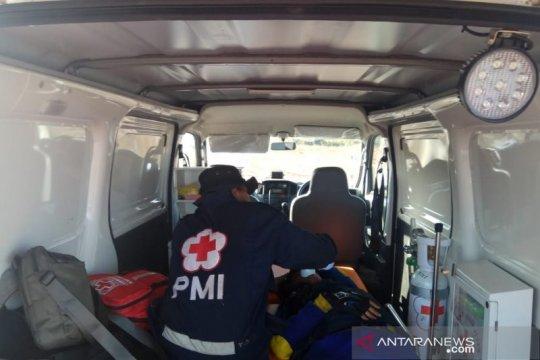 PMI Banjar bantu pemadam karhutla terluka saat memadamkan kebakaran