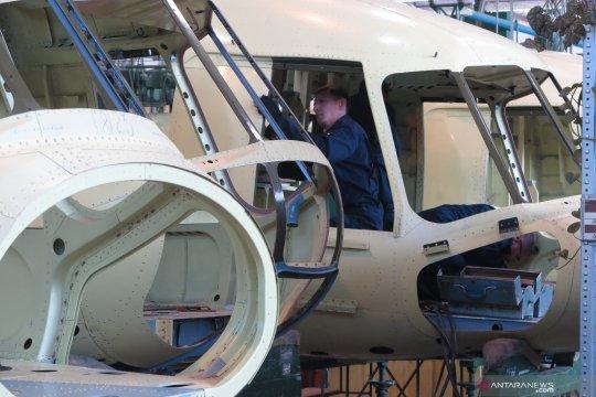 Mengintip pembuatan helikopter Mil Rusia