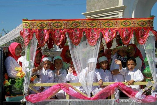 Pawai Hijratul Rasul meriahkan 1 Muharram di Bone Bolango