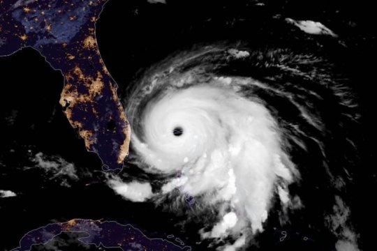 Badai Dorian tewaskan lima orang di Kepulauan Bahama