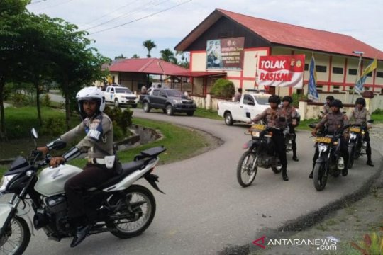 Papua Terkini - Polres Waropen gelar patroli ciptakan situasi kondusif