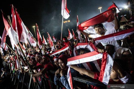 Pagelaran budaya Merajut Nusantara