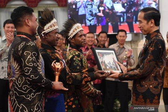 Presiden terima pemenang Festival Gapura Cinta Negeri