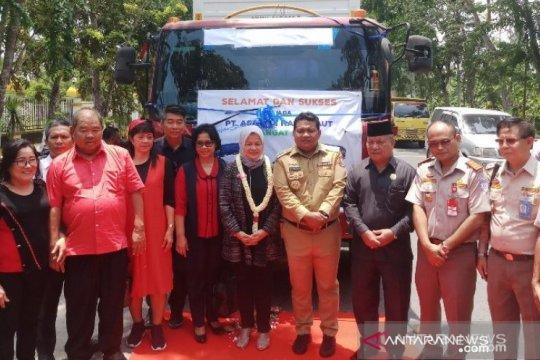 Tanjungbalai ekspor perdana hasil laut ke China