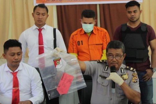 Polres Talaud ungkap kasus pencurian 24 baterai Telkomsel