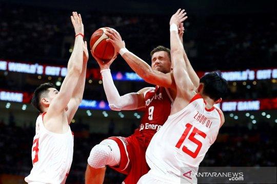 Polandia ke babak kedua setelah taklukkan tuan rumah China