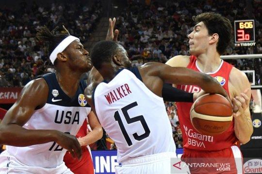 Amerika Serikat butuh overtime tundukkan Turki dan capai putaran kedua