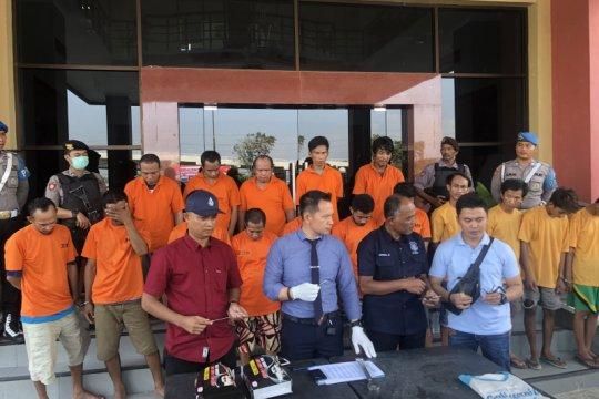 Polresta Samarinda Ciduk 16 Tersangka Curanmor