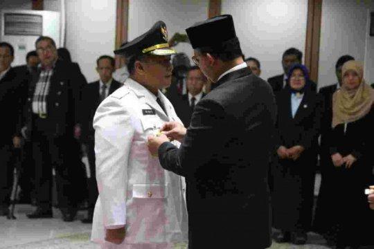 Anies lantik Walikota Jakut, minta kembangkan transportasi pesisir