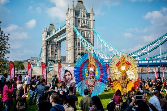 Festival Wonderful Indonesia di London Bridge