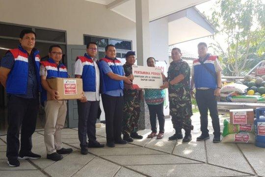 Papua terkini - Pertamina salurkan bantuan untuk pengungsi di Jayapura