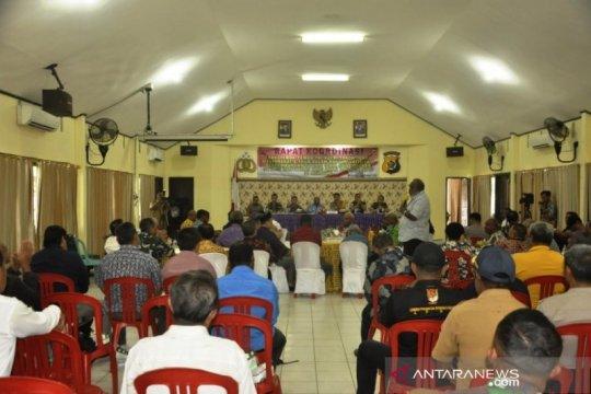 Papua Terkini - Polres Merauke gelar rakor Forkompimda