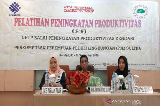 BPP gelar pelatihan peningkatan produktivitas pelaku UMKM di Kendari