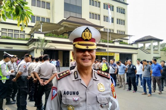 Melawan arus pelanggaran terbanyak selama Operasi Patuh 2019 di Jakut