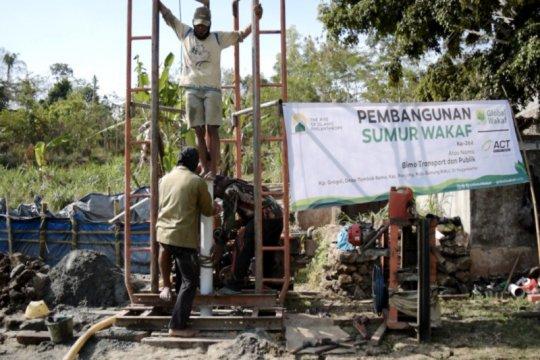 ACT DIY bangun sumur wakaf di Gunung Kidul