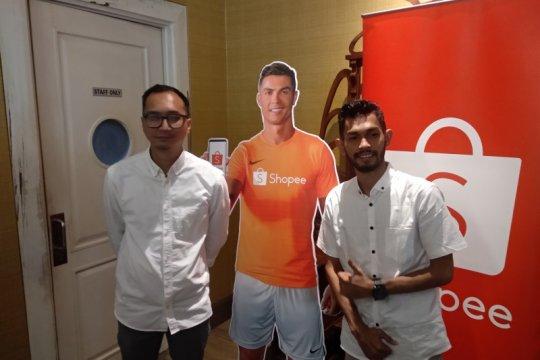 Cristiano Ronaldo berhasil dongkrak bisnis Shopee