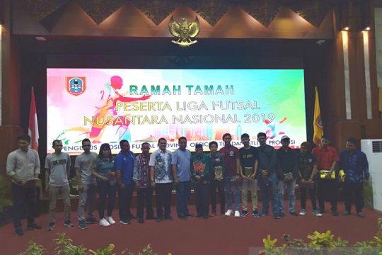 Gubernur Kalsel jamu makan peserta liga futsal Nusantara