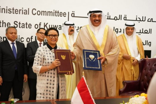 Indonesia-Kuwait berupaya perkuat platform kerja sama ekonomi
