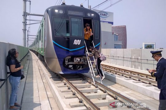 MRT dapat subsidi Rp672 miliar untuk operasional