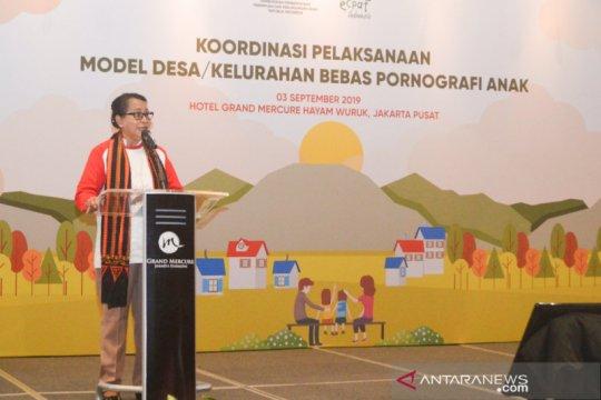 Menteri PPPA canangkan desa/kelurahan model bebas pornografi