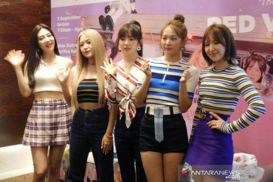 Red Velvet akan beri kejutan saat temu penggemar di Jakarta