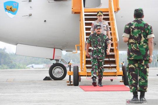 Kapolri dan Panglima TNI berkantor di Papua untuk sementara waktu