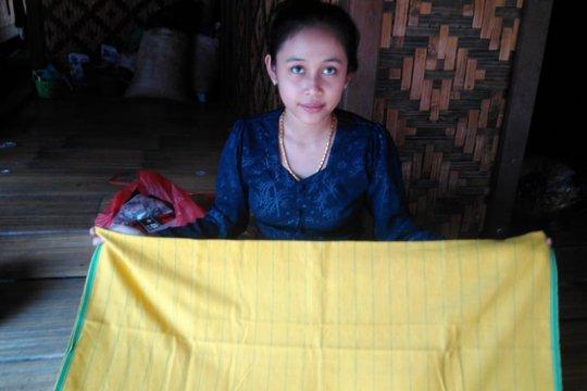 Gunakan medsos untuk pemasaran, permintaan kain tenun Badui meningkat
