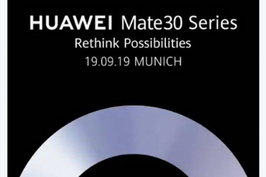 Huawei umumkan tanggal rilis Mate 30