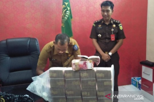 Bangka Selatan terima barang bukti tipikor makan-minum Rp898 juta