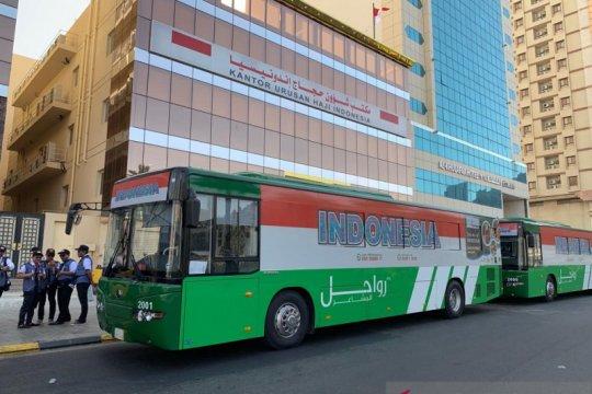 Bus shalawat layani 296.000 trip selama musim haji 2019
