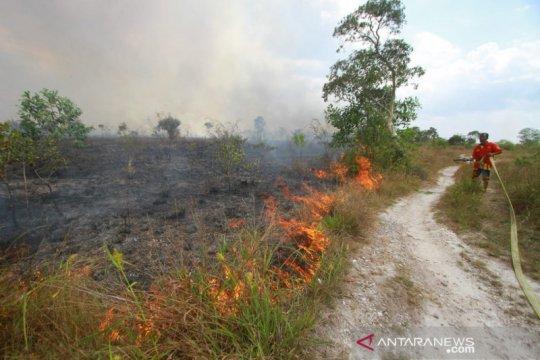 Kabut asap sudah menyelimuti Banjarbaru