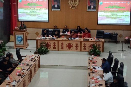 Enam ranperda ditetapkan di akhir masa jabatan DPRD Kota Ambon