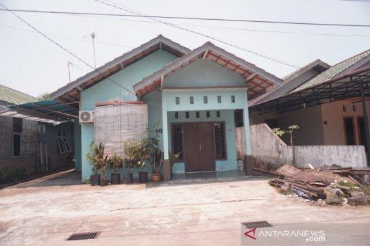 Rumah kediaman Suryadman Gidot sepi