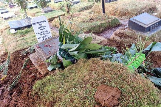 Jenazah Ipda Imran dimakamkan di TPU Malaka