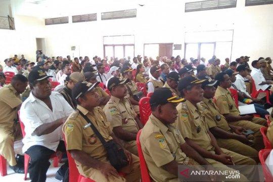 Bupati Herry: 257 kepala kampung wujudkan kedamaian Biak Numfor