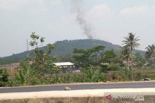 Karhutla Gunung Sunda Sukabumi mencapai 10 hektare
